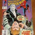 Peter Parker, The Spectacular Spider-man (spiderman) comic book #205 Marvel Comics