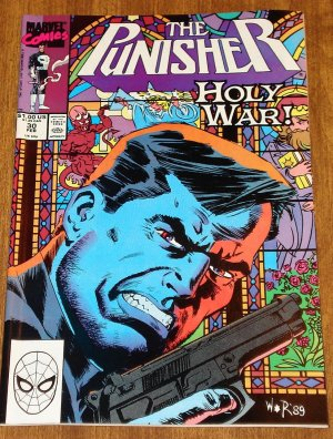 Marvel Comics The Punisher #30 comic book (1980&#039;s series)