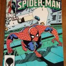 Peter Parker, The Spectacular Spider-man (spiderman) comic book #114 Marvel Comics
