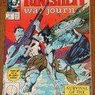 Marvel Comics War Punisher Journal #7 comic book, NM/M, w/ Wolverine!