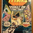 DC Comics New Teen Titans #7 comic book