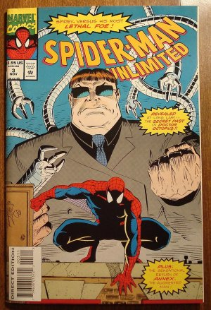 Marvel Comics - Spider-Man (spiderman) Unlimited #3 comic book