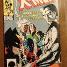 Uncanny X-Men comic book #210 Marvel comics