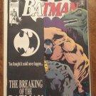 Batman #497 comic book - DC Comics - Knightfall storyline, w/ extra 1/2 cover
