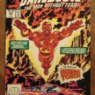 Daredevil #261 comic book - Marvel Comics - w/ The Human Torch!