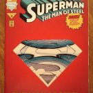 Superman: Man of Steel #22 comic book - DC Comics, NM/M, Die Cut cover