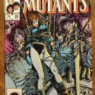 New Mutants #36 comic book - Marvel comics