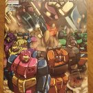 Transformers MicroMasters #4 comic book - Dream Wave Productions - TWO cover variations