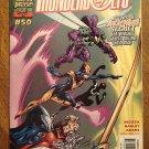 Thunderbolts #50 comic book - Marvel comics