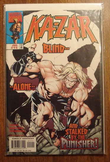 Ka-Zar #15 comic book - Marvel Comics