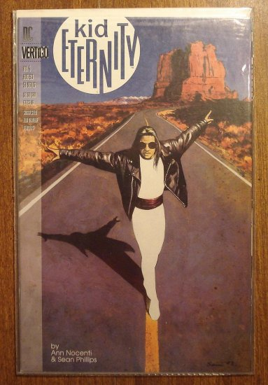 Kid Eternity #4 comic book - DC (Vertigo) Comics