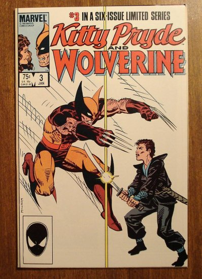 Kitty Pryde & Wolverine #3 comic book - Marvel Comics