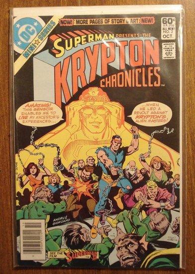 Superman: The Krypton Chronicles #2 comic book - DC Comics