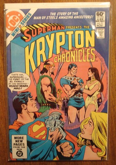 Superman: The Krypton Chronicles #3 comic book - DC Comics