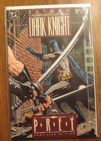 DC Comics Batman Legends of the Dark Knight #15 comic book, NM/M