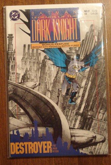 DC Comics Batman Legends of the Dark Knight #27 comic book, NM/M