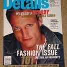 Details Magazine - September 1994 Woody Harrelson, fashion, Marianne Faithful, Pro bikini circuit