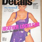 Details Magazine - October 1994 Heather Locklear, South sea Pirates, Jon Stewart, boom boxes