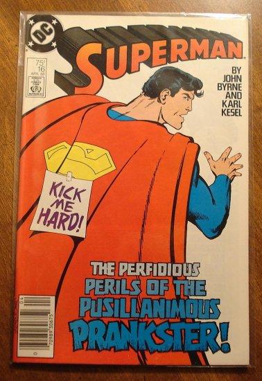 Superman #16 comic book - DC Comics