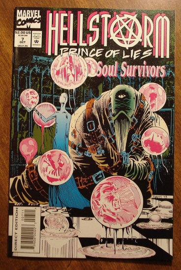 Hellstorm #7 comic book - Marvel Comics