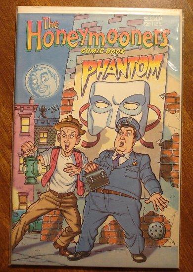 the HoneyMooners #8 comic book - Triad Publication, Jackie Gleason, Art Carney