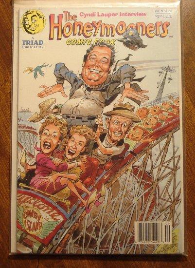 the HoneyMooners #9 comic book - Triad Publication, Jackie Gleason, Art Carney