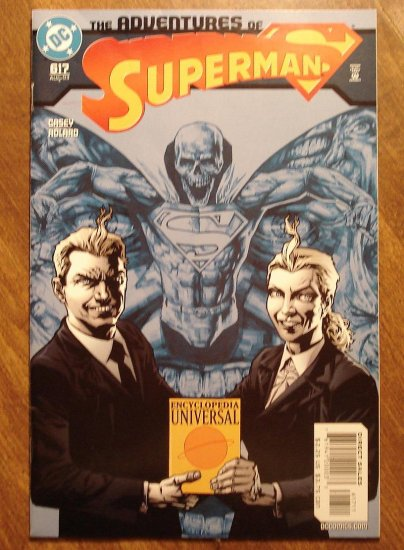 DC Comics - Adventures of Superman #617 comic book