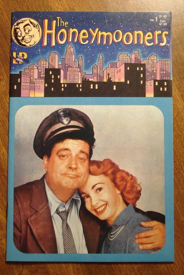 The HoneyMooners #1 comic book - Triad Publication, Jackie Gleason, Art Carney