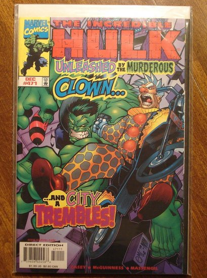 Marvel Comics - The Incredible Hulk #471 comic book