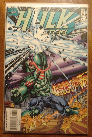 Hulk 2099 #4 comic book - Marvel Comics