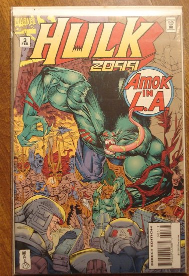Hulk 2099 #3 comic book - Marvel Comics