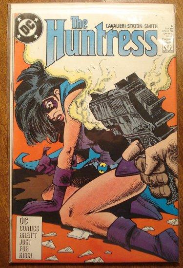 The Huntress  #6 comic book - DC Comics