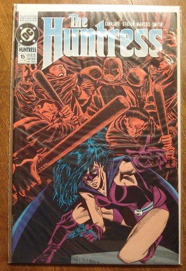 The Huntress #15 comic book - DC Comics