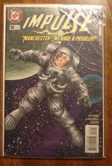 Impulse #18 comic book - DC Comics