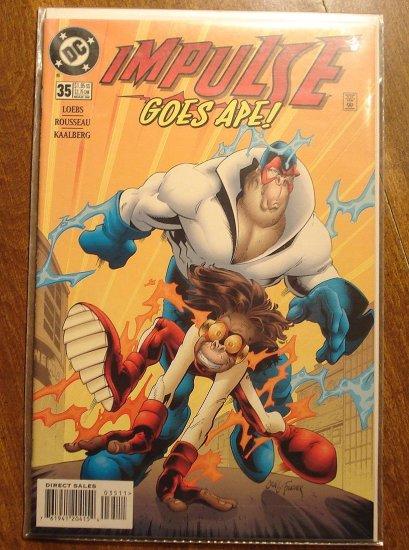 Impulse #35 comic book - DC Comics