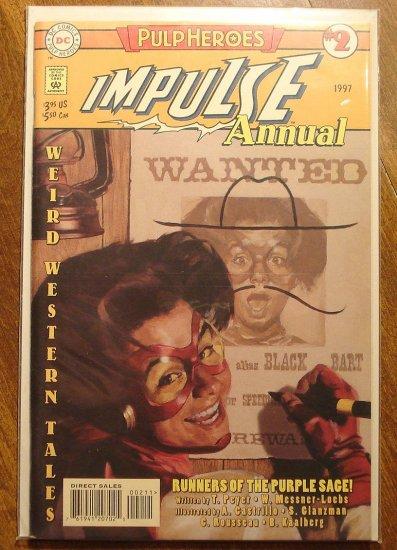 Impulse Annual #2 comic book - DC Comics