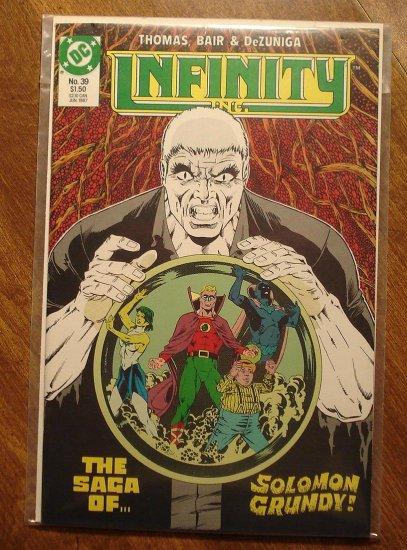 Infinity Inc. #39 comic book - DC Comics