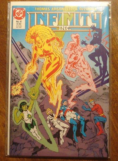 Infinity Inc. #41 comic book - DC Comics