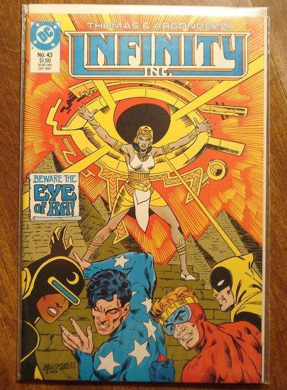 Infinity Inc. #43 comic book - DC Comics