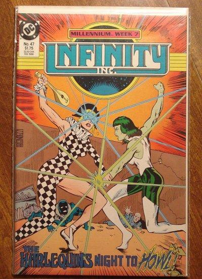 Infinity Inc. #47 comic book - DC Comics