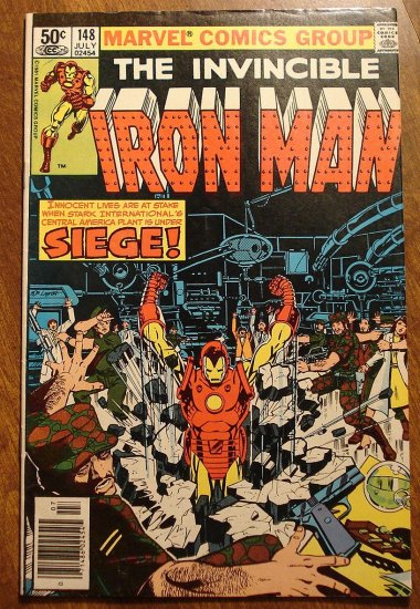 Marvel Comics - The Invincible Iron Man #148 comic book