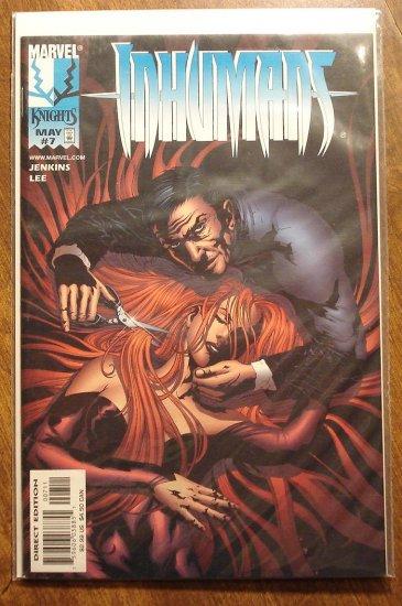 Marvel Knights Inhumans #7 comic book - Marvel comics