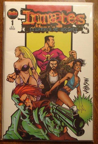 Inmates: Prisoners of Society #1 comic book - Delta Comics
