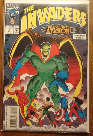 Invaders #3 (of 4) comic book - Marvel comics