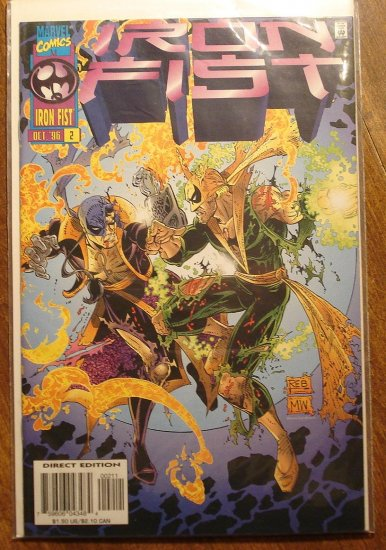 Iron Fist #2 comic book - Marvel comics