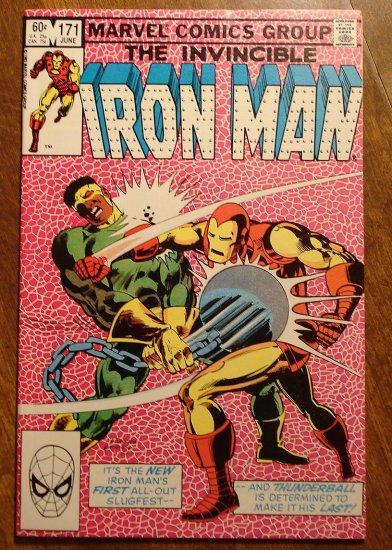 The Invincible Iron Man #171 comic book - Marvel Comics