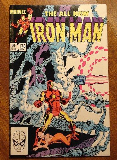 The Invincible Iron Man #176 comic book - Marvel Comics