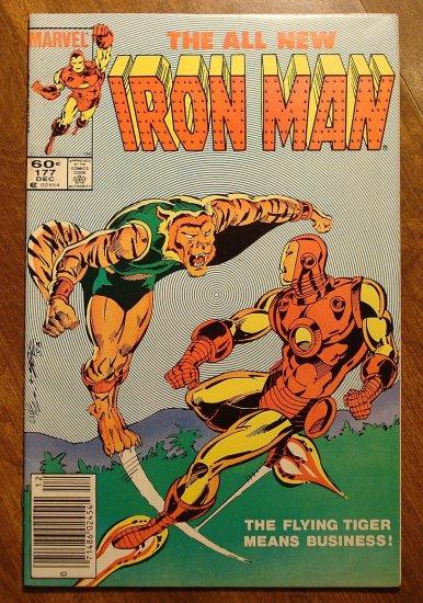 The Invincible Iron Man #177 comic book - Marvel Comics