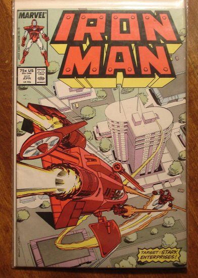 The Invincible Iron Man #217 comic book - Marvel Comics
