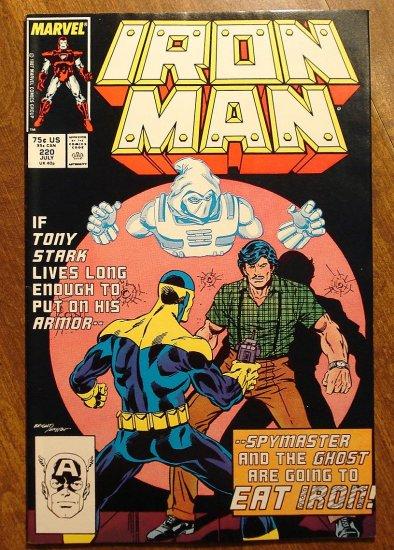 The Invincible Iron Man #220 comic book - Marvel Comics